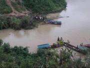 Hai người tử vong trong ô tô dưới lòng hồ Thủy điện Sơn La