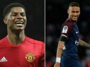 """Bóng đá - Ronaldo chấm QBV tương lai: Rashford """"chung mâm"""" Neymar"""