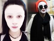 Làm đẹp - Phạm Băng Băng, Trương Bá Chi gây sốc với chiêu giữ da như dọa ma
