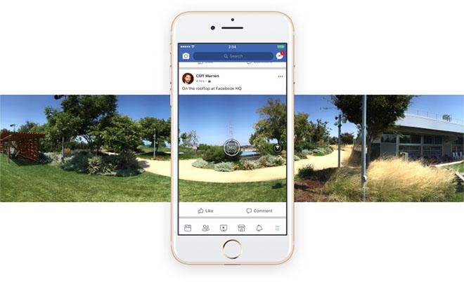 Dùng ảnh 360 độ làm ảnh bìa cho Facebook bằng iPhone - 1