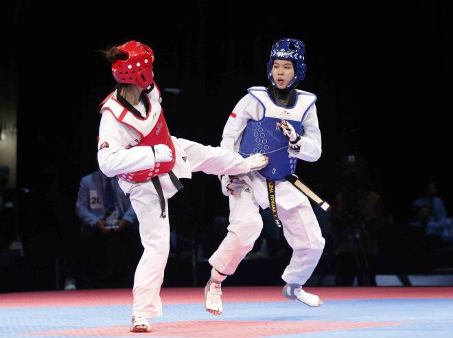 Cô gái Vàng taekwondo Hà Thị Nguyên: Bố mẹ giục lấy chồng, vẫn ham chinh phục - 1