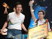 Nhật Minh nói gì sau khi giành vòng nguyệt quế mạ vàng Olympia 17?