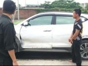 """Tin tức trong ngày - Quảng Ninh: Truy đuổi lái xe """"điên"""" lao vào thẳng vào CSGT"""