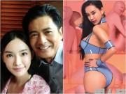 """Thời trang khoe vòng 1 của  """" con gái """"  Châu Nhuận Phát"""