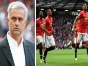 """Bóng đá - MU vô đối Ngoại hạng Anh: Mourinho có """"đội quân"""" bách chiến bách thắng"""