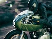 Mê hoặc Triumph Thruxton bản độ đua hoài cổ
