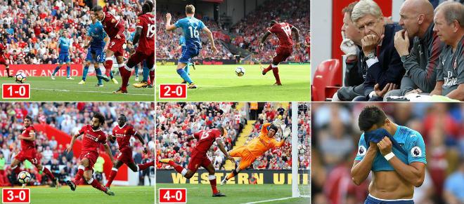 Arsenal thảm bại Liverpool: Cả thế giới chống lại Wenger