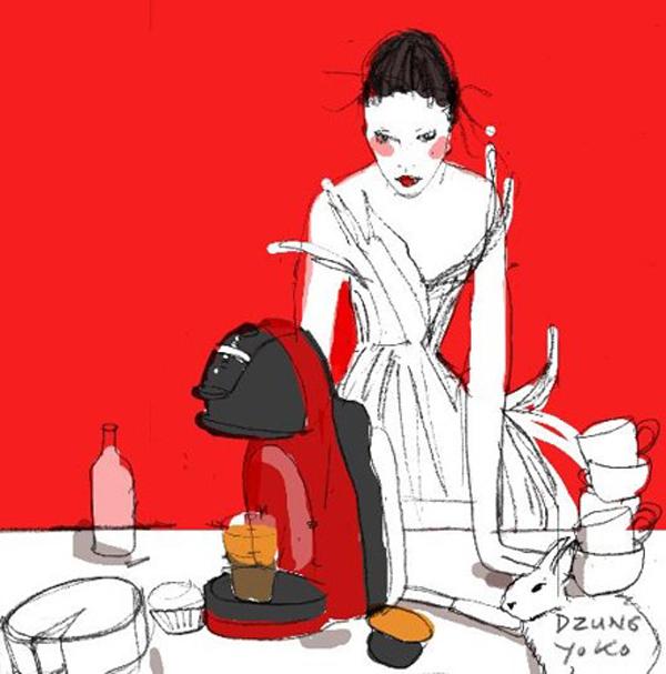 Dzũng Yoko - chuyện kể từ những bản sketch sắc màu - 1