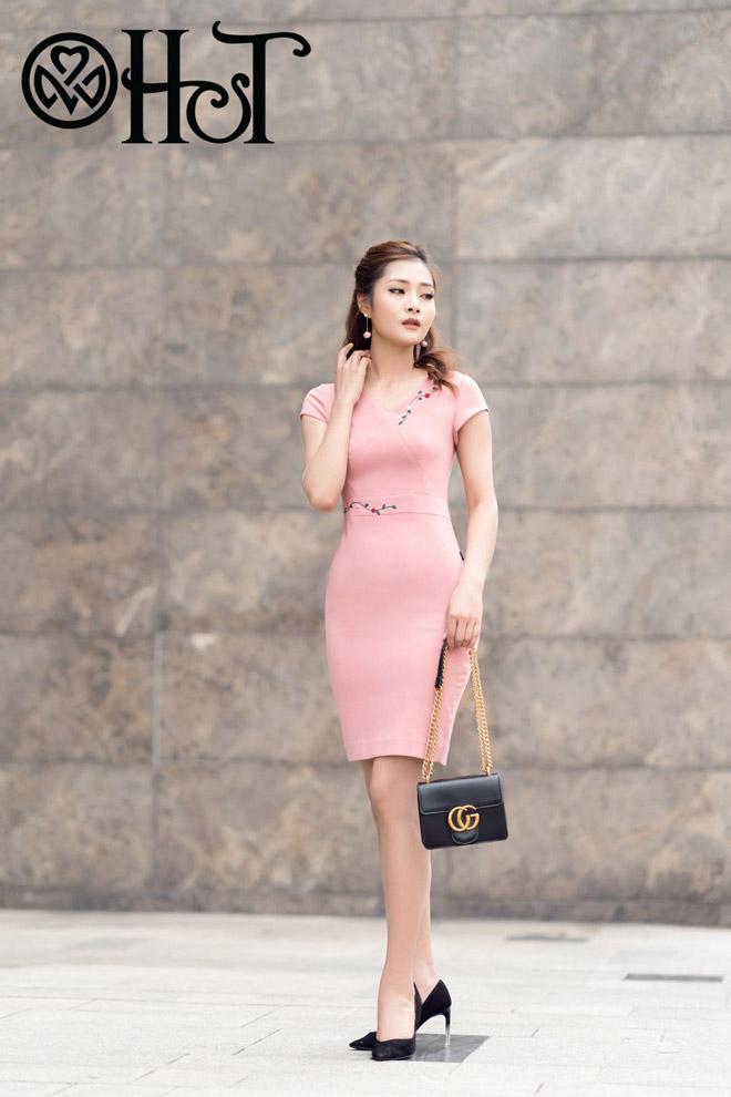 Thanh lịch, quyến rũ trong BST Thu 2017 của Thời trang H&T - 2