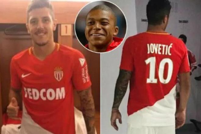 Monaco chính thức mua Jovetic, Mbappe sắp đến PSG 180 triệu euro - 1