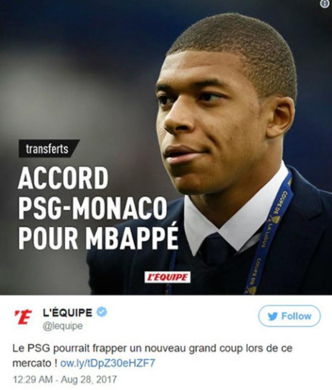 Monaco chính thức mua Jovetic, Mbappe sắp đến PSG 180 triệu euro - 2