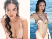 """Người đẹp cảnh nóng trong phim  """" Quyên """"  sexy nhờ bơm ngực"""