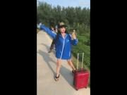 """Video Clip Cười - Clip: MƯU HÈN KẾ BẨN vẫy """"soái ca"""" của con gái"""