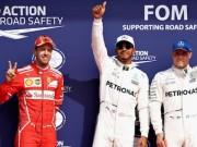 BXH đua xe F1 - Belgium GP: Hamilton hay nhưng Vettel mới là số 1