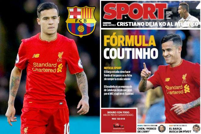 """Barcelona chốt """"bom tấn"""" Coutinho 148 triệu bảng, Liverpool gật đầu"""