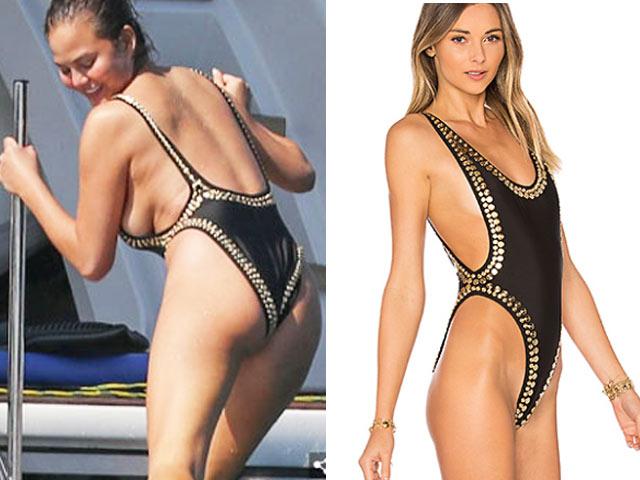 """Áo tắm lộ hết khuyết điểm cơ thể của """"nữ thần bikini"""""""
