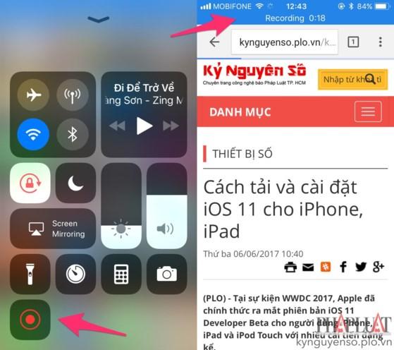 Mẹo quay phim màn hình trên Android và iOS