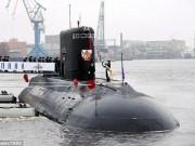 Sức mạnh 2 tàu ngầm tàng hình Nga đưa đi diệt IS