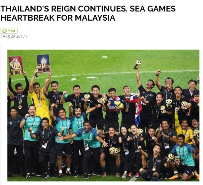 """Báo chí thế giới: Quyền uy """"vua SEA Games"""" Thái Lan, đau đớn Malaysia"""