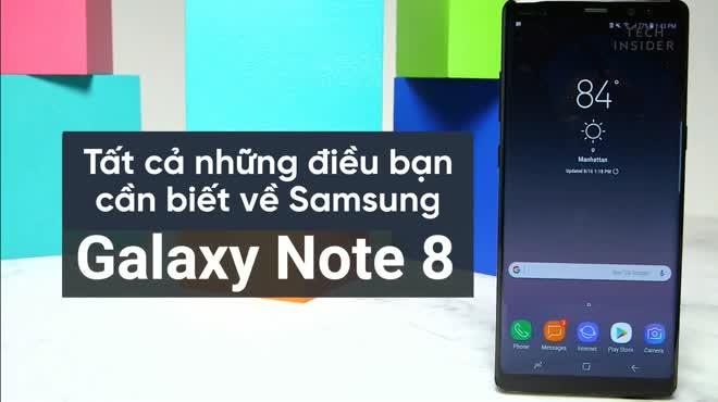 Samsung Galaxy Note 8 và tất tật những điều bạn cần biết
