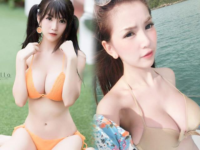 Đây là thiếu nữ nổi tiếng xinh đẹp, sexy hơn tuổi ở Thái Lan