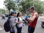 Giáo dục - du học - Muốn học tiếng Anh, ra công viên nhanh