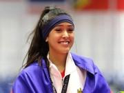 """Thể thao - Nữ VĐV đẹp nhất SEA Games: Phát sốt với võ sỹ """"đẹp như Tây"""""""