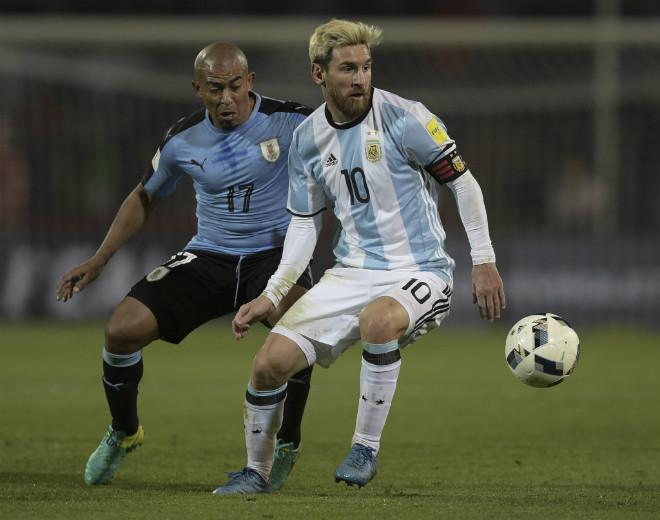 "Uruguay - Argentina: ""Điệu Tango hủy diệt"" của Messi - 1"