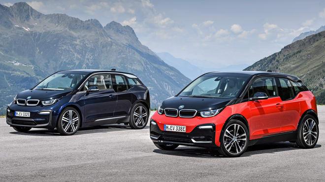 BMW i3 2018 ra mắt, thêm bản i3S hiệu suất cao