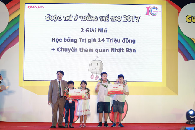 Vinh danh 30 ý tưởng xuất sắc nhất cuộc thi Ý tưởng trẻ thơ lần thứ 10 - 2