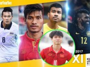 """Bóng đá - Báo thế giới loại """"Vua phá lưới"""" Công Phượng khỏi Đội hình xuất sắc SEA Games"""