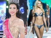 Đối thủ xinh hơn tiên, Mỹ Linh liệu có cửa ở Hoa hậu Thế Giới?