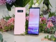 Dế sắp ra lò - Samsung ra mắt Galaxy Note 8 màu hồng đầy nữ tính