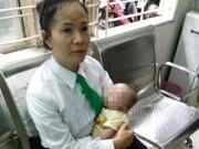 """Tin tức trong ngày - """"Thiên thần""""2 tháng tuổi bị bỏ rơi trên xe taxi, kèm lá thư xin lỗi"""