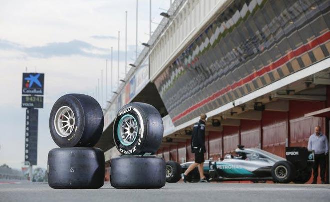 """Đua xe F1: Lốp xe và những """"ngư ông đắc lợi"""" - 3"""