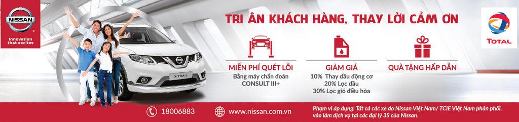 """Nissan Việt Nam ưu đãi """"Tri ân khách hàng, thay lời cảm ơn"""" - 1"""