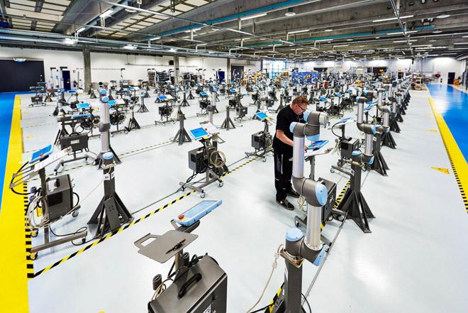 Giải pháp tự động hoá cho ngành công nghiệp sản xuất