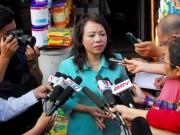 """Tin tức trong ngày - Bộ trưởng Tiến: """"Em chồng tham gia VN Pharma là quyền cá nhân"""""""