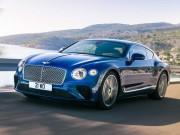 Bentley Continental GT 2018 hoàn toàn mới lộ diện