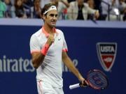 """Thể thao - Clip hot US Open: Federer vờn trái rồi dập phải, đối thủ chỉ biết """"khóc"""""""
