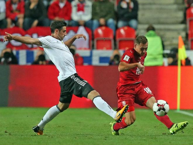 CH Séc - Đức: Bi kịch phút 88 (vòng loại World Cup)