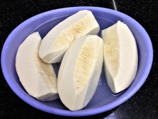 Thơm ngon, bổ dưỡng canh chân giò hầm sa kê - 3