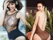 """Nhờ đâu 4 mỹ nữ Việt nóng bỏng này có  """" vòng ba hơn 1 mét """" ?"""