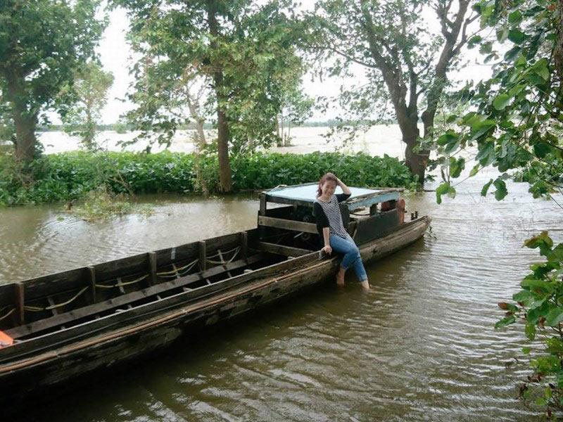 Về An Giang ăn cá linh trên đồng nước nổi - 7
