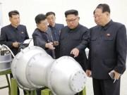 Thế giới - Triều Tiên tuyên bố chấn động: Gắn được bom nhiệt hạch lên tên lửa