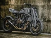 Thế giới xe - Yamaha MT-07 hóa vũ khí linh hồn bóng đêm đáng sợ