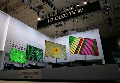 LG trình làng dòng TV OLED tại triển lãm IFA - 3