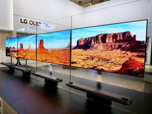 LG trình làng dòng TV OLED tại triển lãm IFA - 2