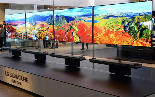 LG trình làng dòng TV OLED tại triển lãm IFA - 1
