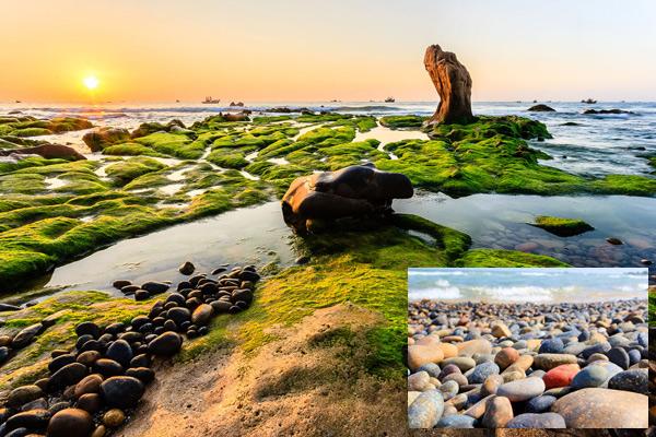 Ngất ngây bãi đá 7 màu ở Bình Thuận - 1